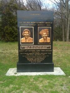 Amelia Boynton Robinson and Marie Foster